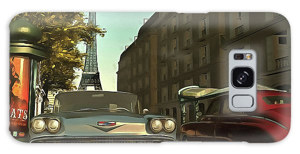 American  Oldtimers In Paris Galaxy Case