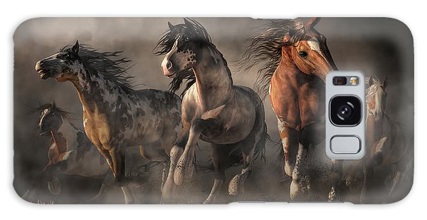American Paint Horses Galaxy Case