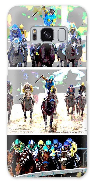 American Pharoah Galaxy Case by Charles Shoup