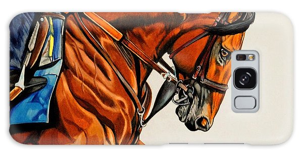 American Pharoah - Triple Crown Winner In White Galaxy Case