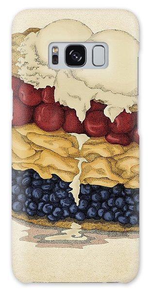 American Pie Galaxy Case by Meg Shearer