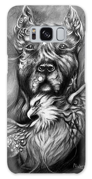 American Pitbull Galaxy Case by Patricia Lintner