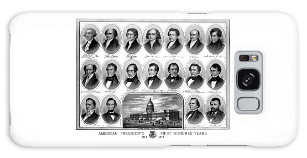 Abraham Lincoln Galaxy S8 Case - American Presidents First Hundred Years by War Is Hell Store