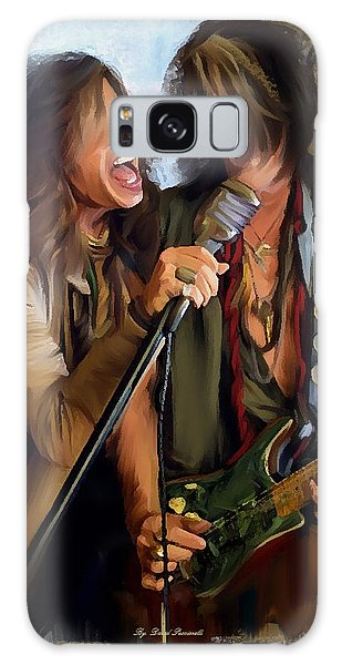 American Rock  Steven Tyler And Joe Perry Galaxy Case