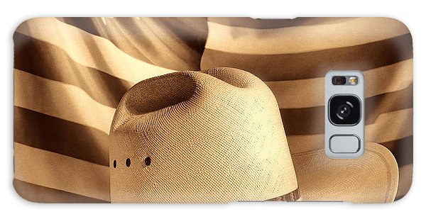 American Rodeo Cowboy Hat Galaxy Case