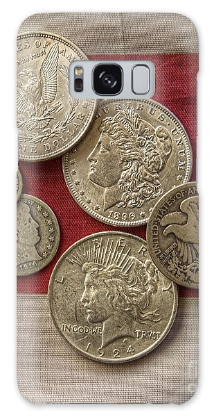 American Silver Coins Galaxy Case by Randy Steele