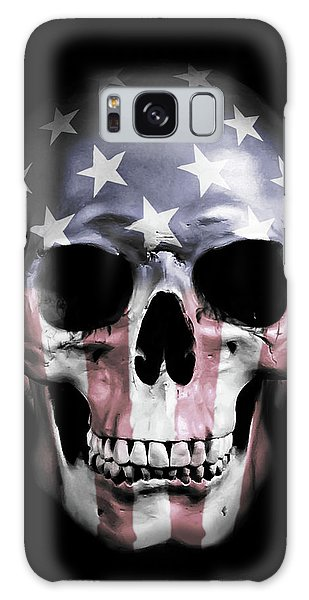 American Skull Galaxy Case
