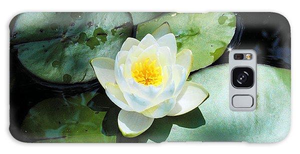 American Water Lilies Galaxy Case by J Jaiam