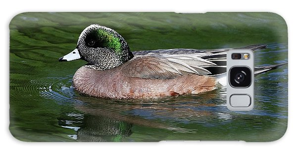 American Wigeon Anas Americana Duck Galaxy Case