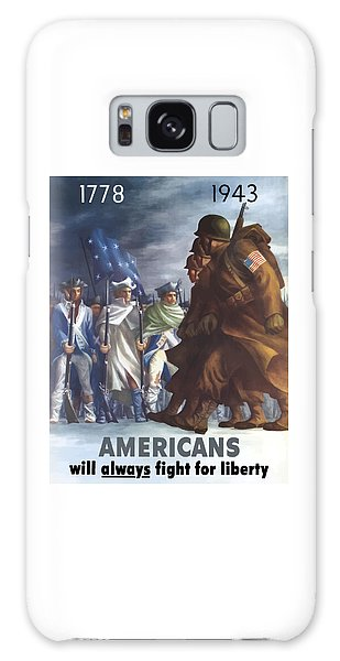 Political Galaxy Case - Americans Will Always Fight For Liberty by War Is Hell Store