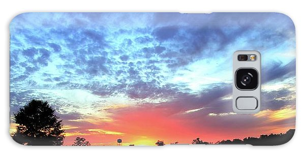 City On A Hill - Americus, Ga Sunset Galaxy Case