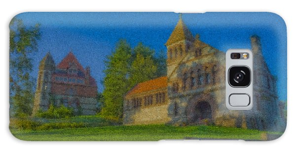 Ames Hall And Ames Free Library Galaxy Case