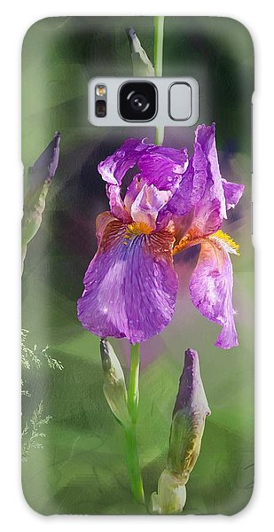 Amethyst Iris 2 Galaxy Case
