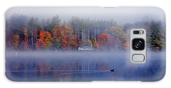 Amherst Lake Vt Galaxy Case by Butch Lombardi