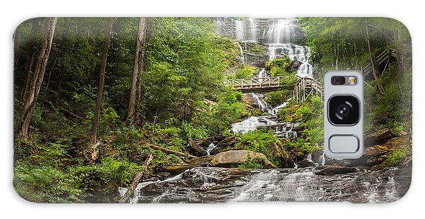 Galaxy Case featuring the photograph Amicalola Falls by Michael Sussman