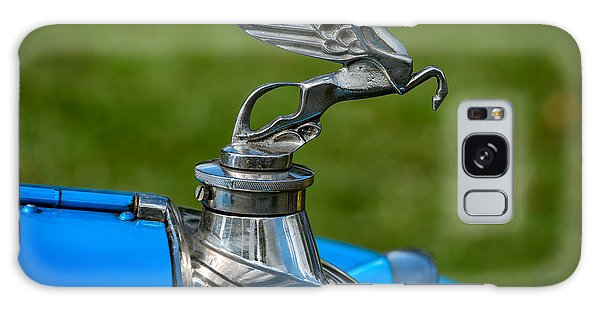 Amilcar Pegasus Emblem Galaxy Case by Adrian Evans