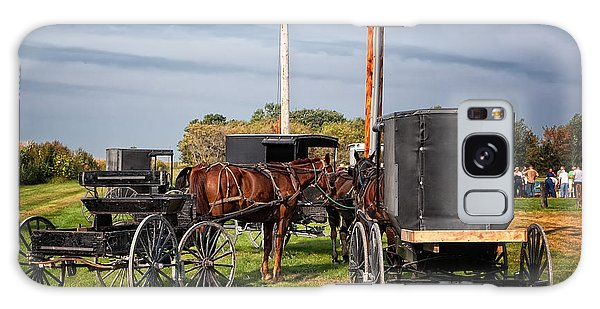 Amish At The Auction Galaxy Case