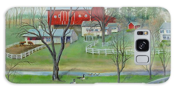 Amish Farm Galaxy Case