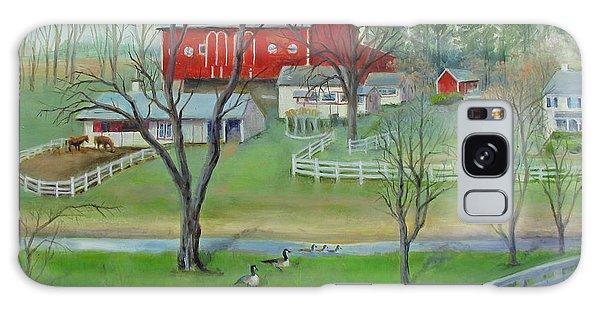 Amish Farm Galaxy Case by Oz Freedgood
