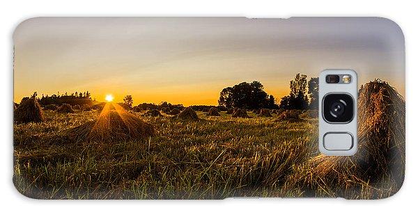 Amish Harvest Galaxy Case by Chris Bordeleau
