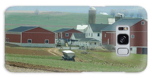 Amish Homestead 6 Galaxy Case