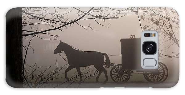 Amish Morning 1 Galaxy Case