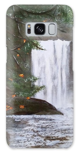 Ammonite Falls Galaxy Case