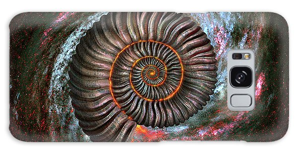 Galaxy Galaxy Case - Ammonite Galaxy by Jerry LoFaro