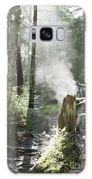 Ammonoosuc Ravine Trail - White Mountains New Hampshire Usa Galaxy Case