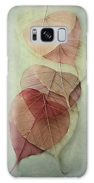 Green Leaf Galaxy Case - Among Shades by Maggie Terlecki