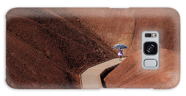 Among The Painted Hills Galaxy Case