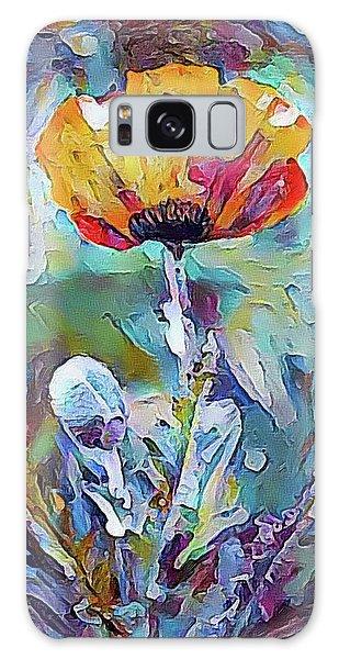 Among The Poppies II Galaxy Case