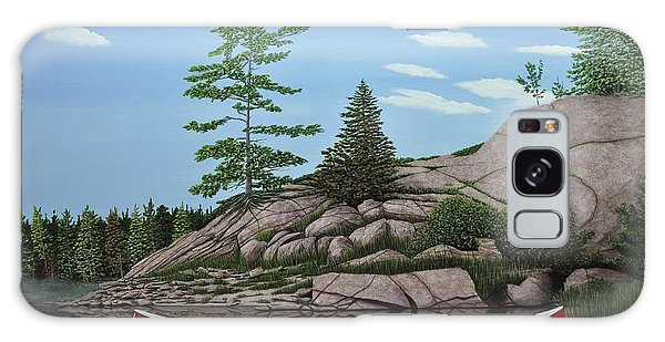 Among The Rocks II Galaxy Case by Kenneth M  Kirsch