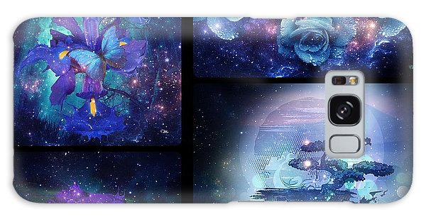 Among The Stars Series Galaxy Case by Mo T