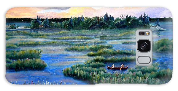 Amongst The Reeds Galaxy Case by Renate Nadi Wesley