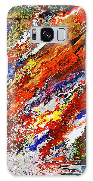 Amplify Galaxy Case by Ralph White