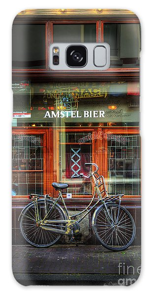 Amstel Bier Bicycle Galaxy Case