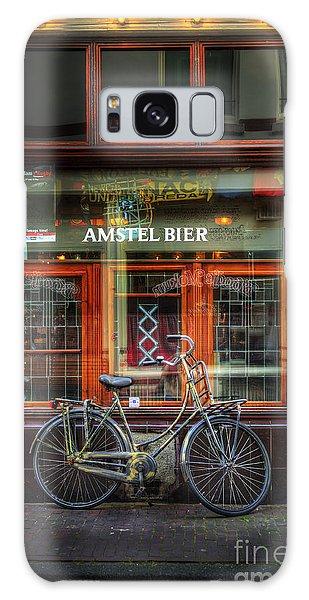 Amstel Bier Bicycle Galaxy Case by Craig J Satterlee