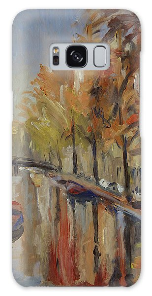 Briex Galaxy Case - Amsterdam Autumn With Boat by Nop Briex