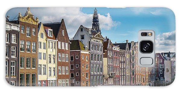Amsterdam Buildings Galaxy Case