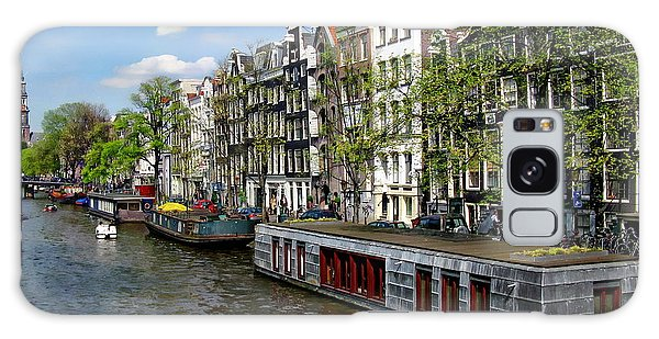 Amsterdam Canal Galaxy Case by Anthony Dezenzio