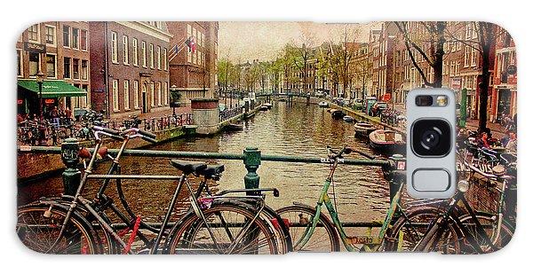 Amsterdam Canal Galaxy Case by Jill Smith