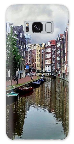 Amsterdam Galaxy Case by Heather Applegate
