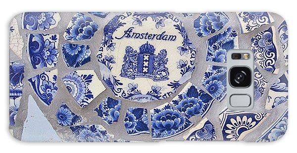 Amsterdam In Blue Galaxy Case