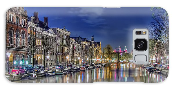 Amsterdam Reflections Galaxy Case