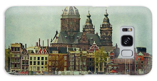 Amsterdam Skyline Galaxy Case by Jill Smith