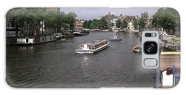 Amsterdam Water Scene Galaxy Case