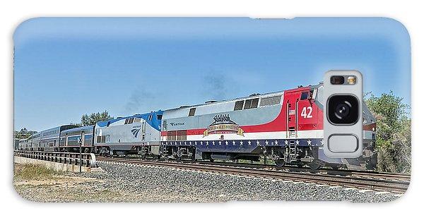 Amtrak 42  Veteran's Special Galaxy Case by Jim Thompson