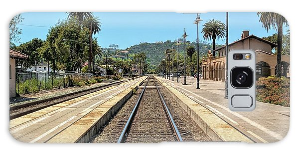 Amtrak Station, Santa Barbara, California Galaxy Case