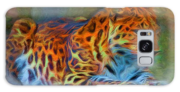 Amur Leopard Galaxy Case